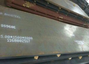 960 челична плоча високе чврстоће